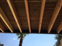 Terrasse Acier et Douglas autoclave - Conception Isabelle Amalvict ACCS Architecture