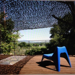 Terrasse bambou - La Font du figuier - 2016