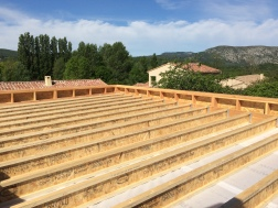 Extension Bois toit plat - 2017- Emile M. - Pare-vapeur intérieur