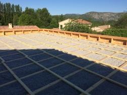Extension Bois toit plat - 2017- Emile M. - Litelage de ventilation