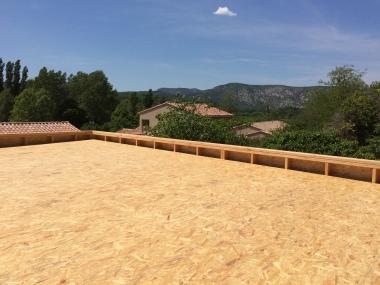 Extension Bois toit plat - 2017- Emile M. - Panneaux OSB 4