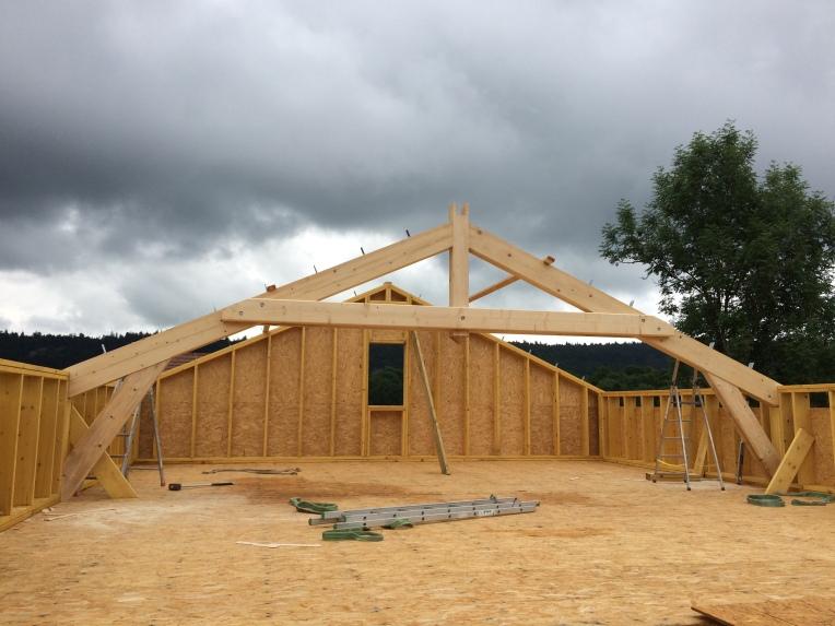 Maisons ossature bois dans le Jura - 2017 - Emile M.