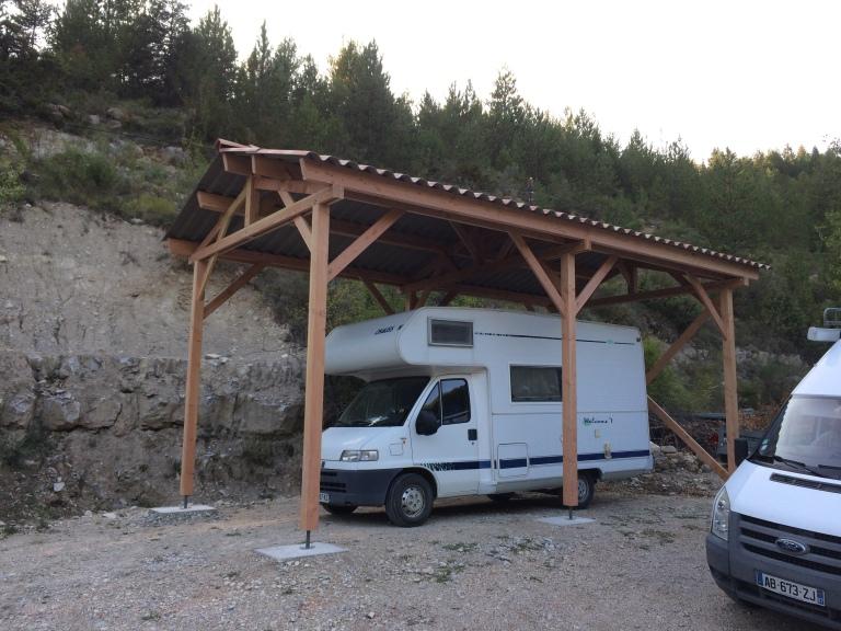 Auvent pour Camping car en Douglas - Emile M.