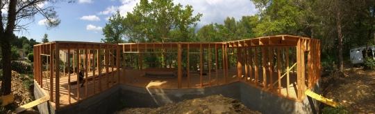 Maison Ossature bois - Emile M. Créations Bois